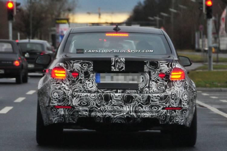 BMW M3 y Serie 4 camuflados