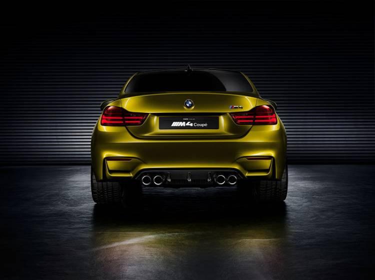BMW M4 Concept: comienza una nueva leyenda