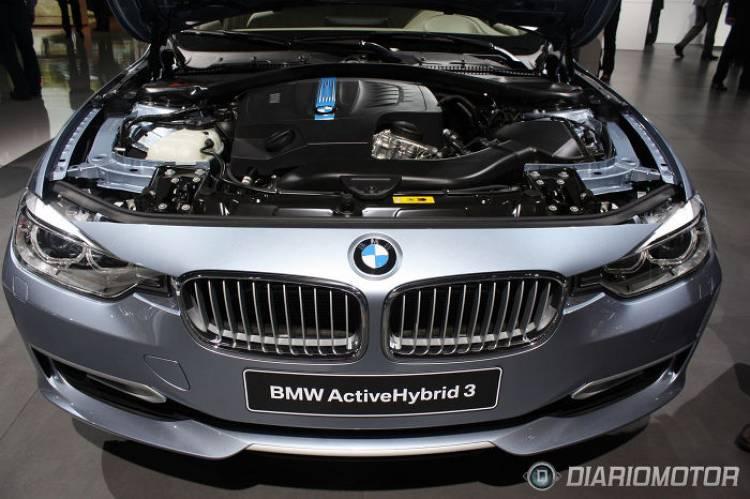 BMW Active Tourer y Serie 3 ActiveHybrid en el Salón de París