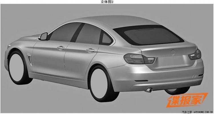 El BMW Serie 4 Gran Coupé podría debutar en Ginebra