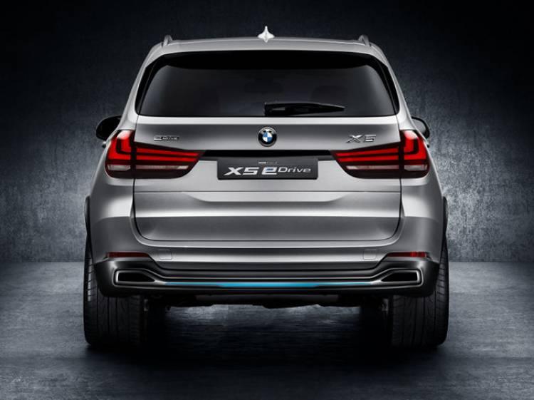 BMW Concept X5 eDrive: híbridando conceptualmente al BMW X5