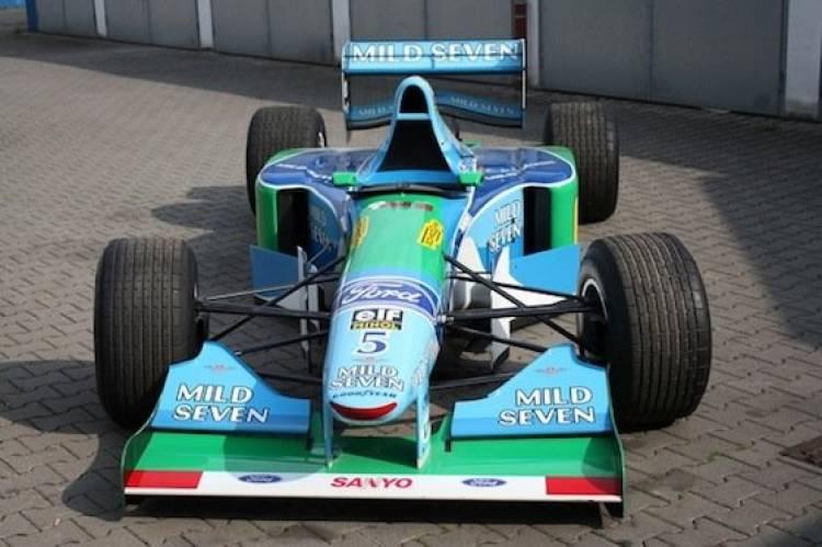 Benetton-Ford B194-8 de Michael Schumacher, a la venta