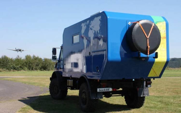 Vehículo de expedición Bocklet Dakar U 685 - Diariomotor