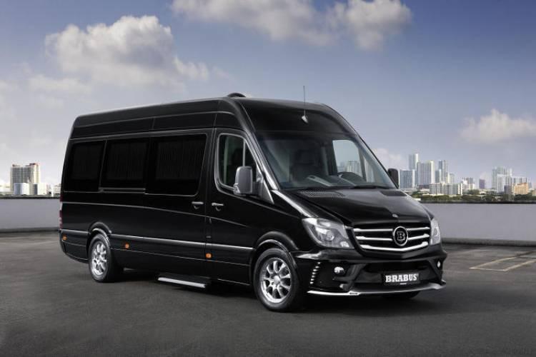 Brabus convierte a tu Mercedes Sprinter en toda una limusina