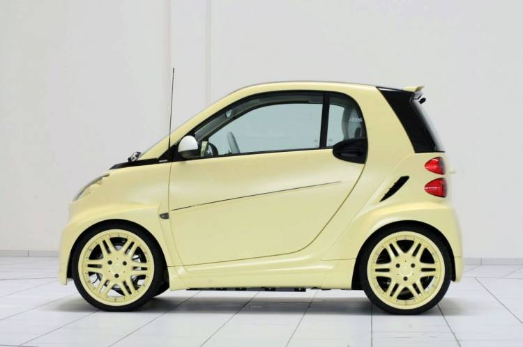 Brabus Ultimate High Voltage Concept (Smart Fortwo)