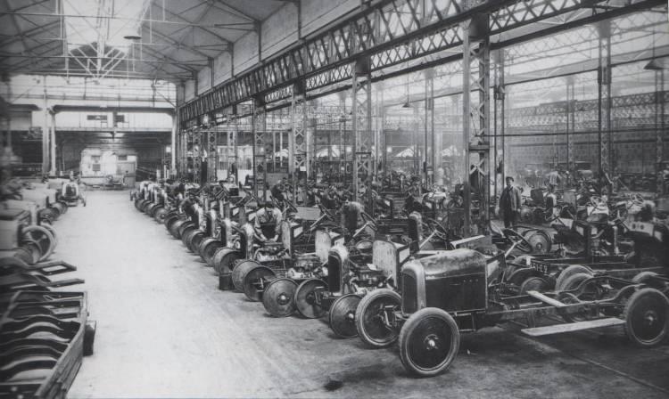 Cadena de producción del Citroën Type A