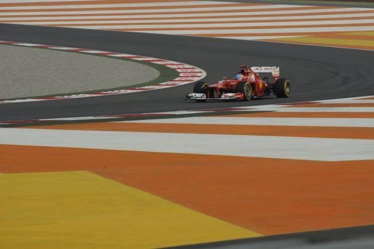 GP India 2012 - Calificación