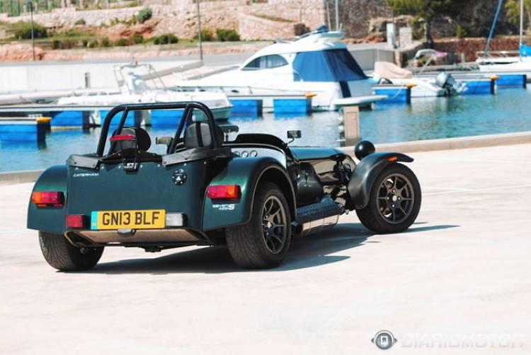 Caterham 485: el Caterham homologado más potente fuera de Reino Unido