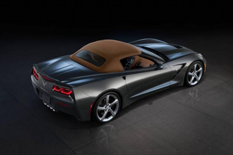 Chevrolet Corvette Stingray Convertible: todos los detalles del Corvette cabrio