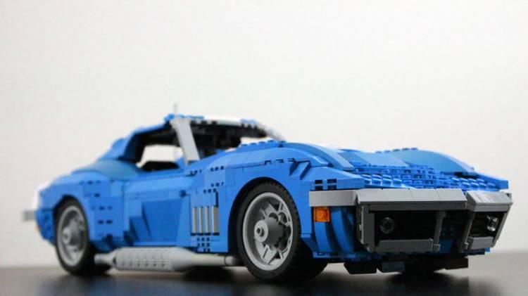 Un Chevrolet Corvette de Lego necesita tu ayuda: vota para que llegue a las tiendas