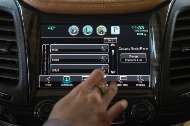 Nueva generación del sistema MyLink de Chevrolet
