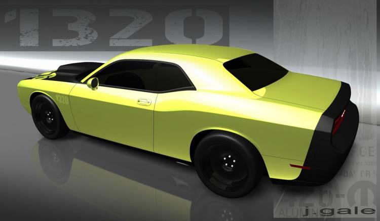 Dodge Challenger 1320 Chrysler SEMA
