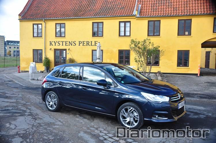 Citroën C4, presentación en Suecia