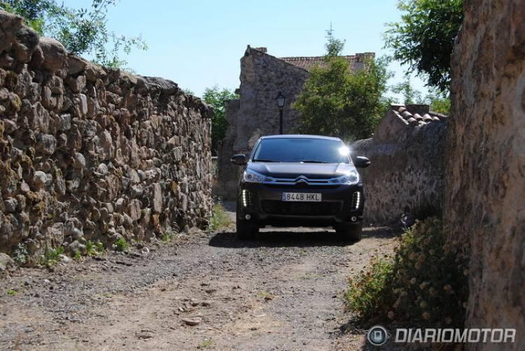 Citroën C4 Aircross 1.8 HDi 150cv Exclusive 4WD, toma de contacto en Segovia