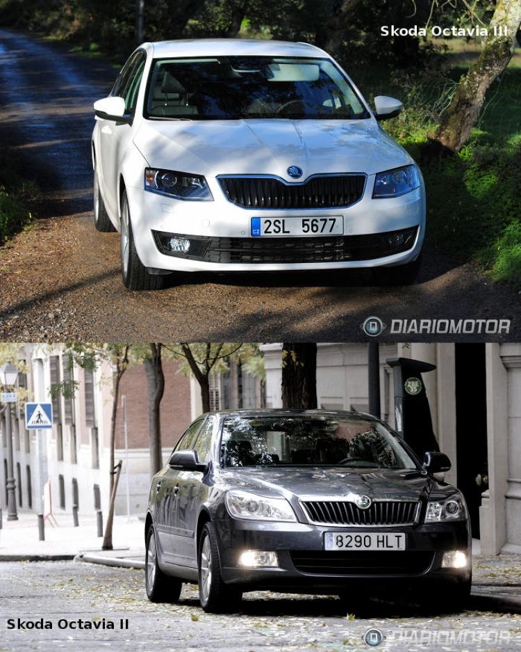 Skoda Octavia, probamos a la generación saliente: prueba y comparativa con la nueva generación