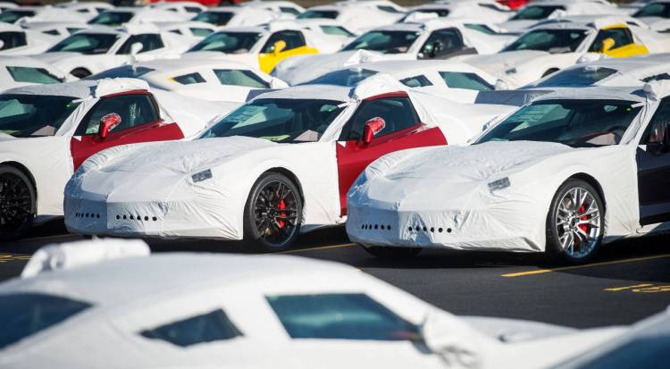 2015 Corvette Z06 Ships To Dealers