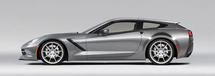 Corvette Stingray Shooting Brake: Callaway lo hará posible