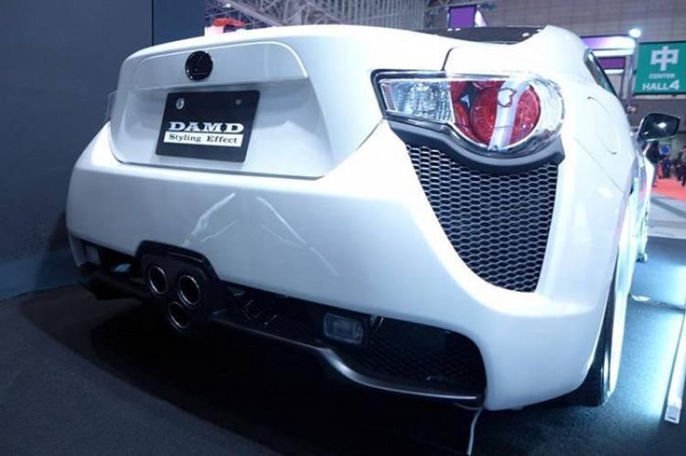 DAMD LFT 86: el GT 86 que quería convertirse en Lexus LFA