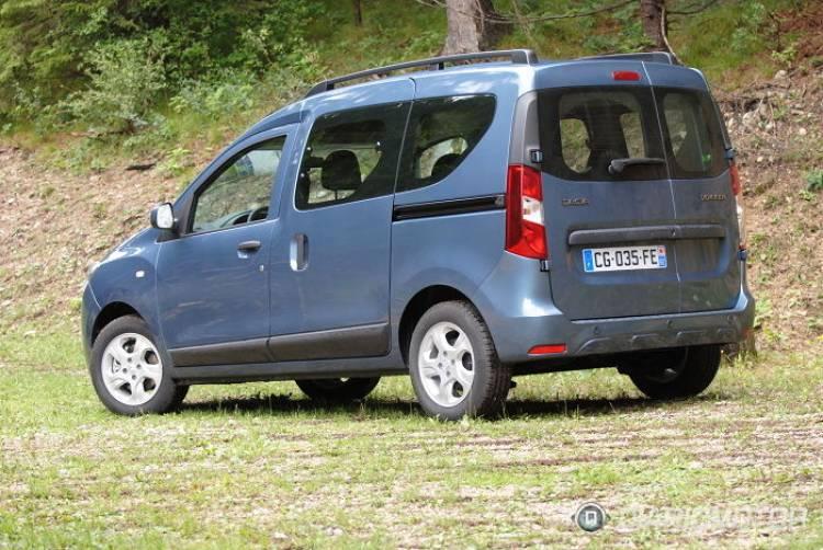 Dacia Dokker y Dokker Van, presentación y prueba en Viena