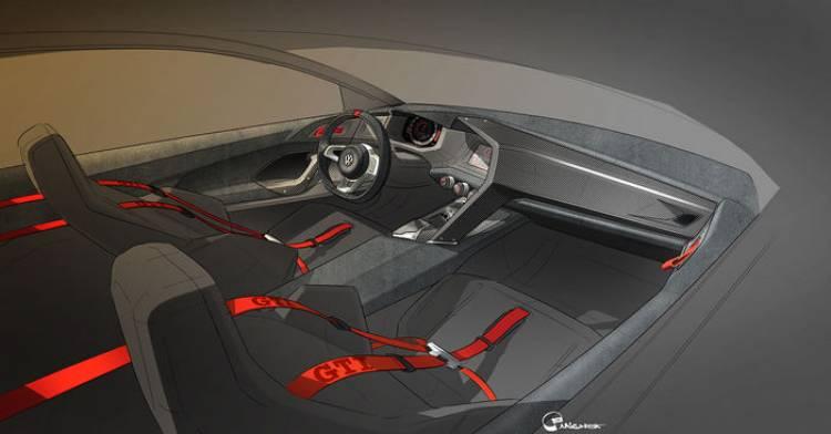 Design Vision GTI: el Volkswagen Golf GTI de más de 500 caballos