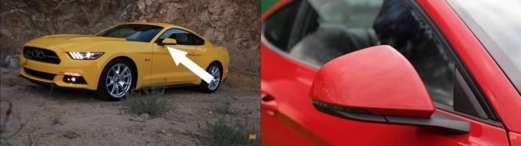 diferencias-retrovisores-ford-mustang-americano-y-europeo