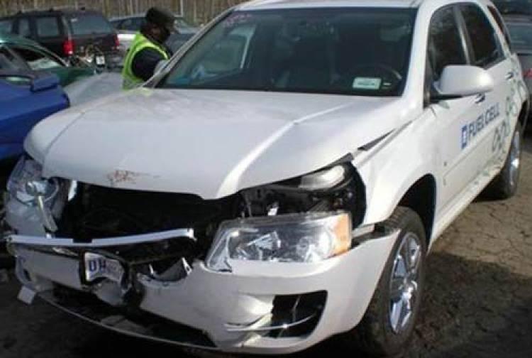 accidentes con coches de hidrógeno