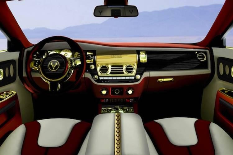 Rolls Royce Ghost preparado por Fenice Milano
