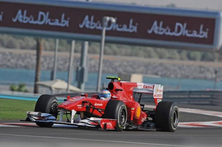 Fernando Alonso - Ferrari (GP Abu Dhabi 2010)