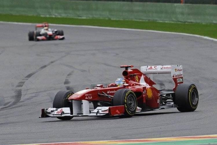 Fernando Alonso (Ferrari) - GP de Bélgica 2011