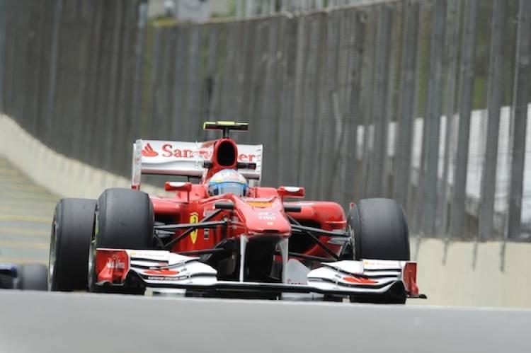 Calificación GP Brasil 2010: Fernando Alonso (Ferrari)