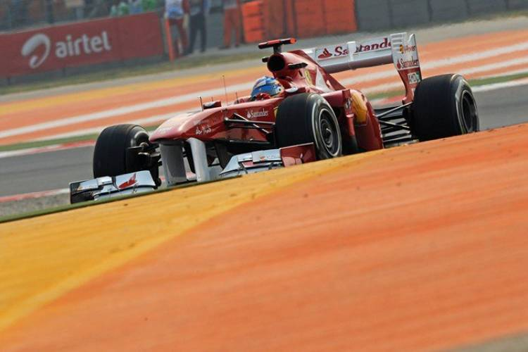 Fernando Alonso (Ferrari) - GP de India 2011