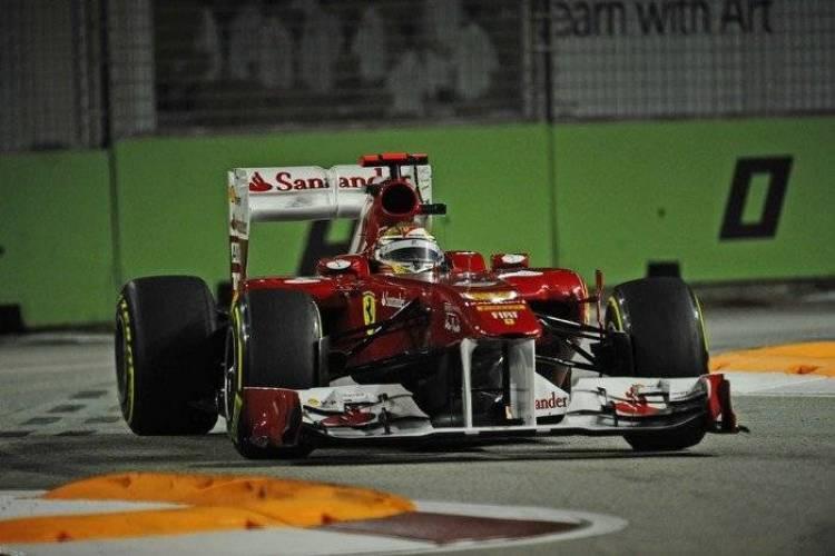 Fernando Alonso (Ferrari) - GP Singapur 2011
