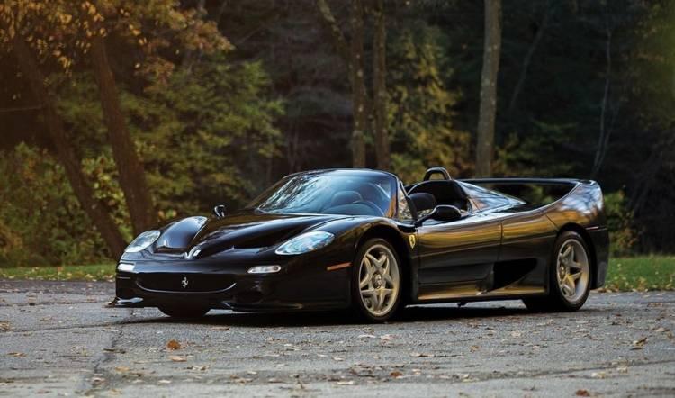 Ferrari F50 negro_portada