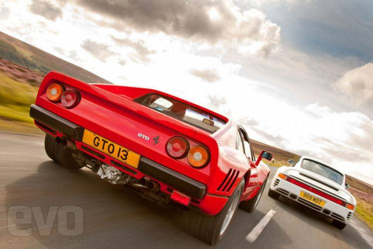Porsche 959 vs Ferrari 288 GTO, comparativa retrospectiva de EVO