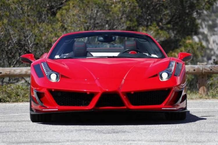 Ferrari 458 Spider por Mansory