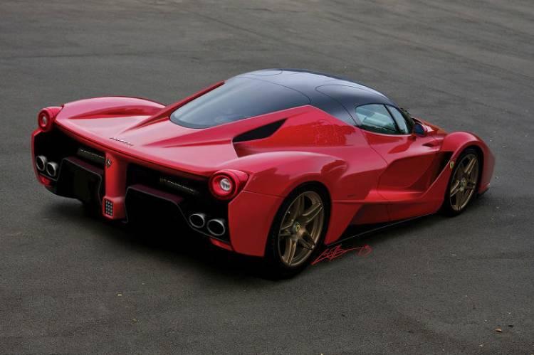 Imaginando al sucesor del Ferrari Enzo