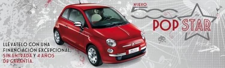 Fiat 500 Pop Star