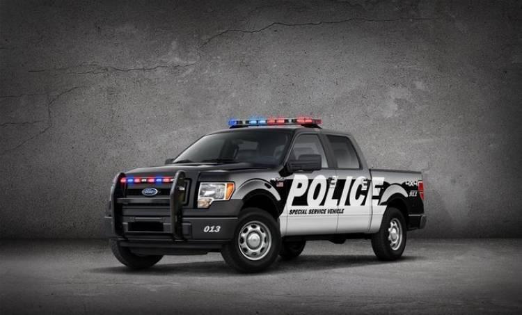 Ford F-150 SSV, la pick-up de bomberos y Policía