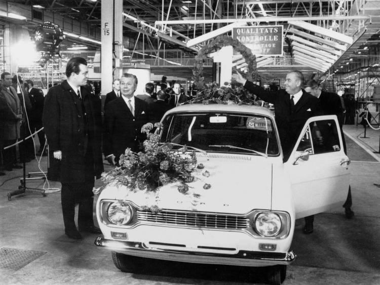 Ford Pressebild2 - FordEscort 1970