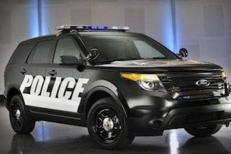 Ford Interceptor Pace Car
