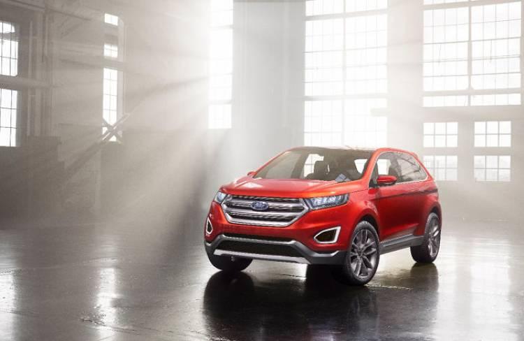 Ford Edge Concept: el gran SUV de filosofía premium que próximamente también veremos en Europa