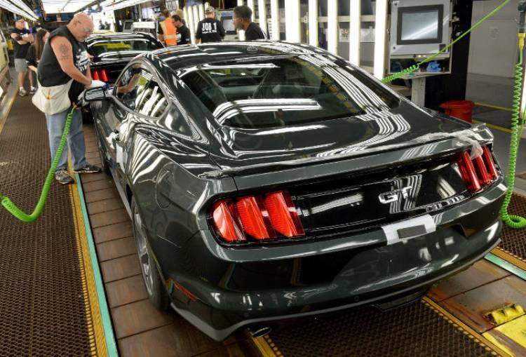 Arranca la producción del nuevo Ford Mustang