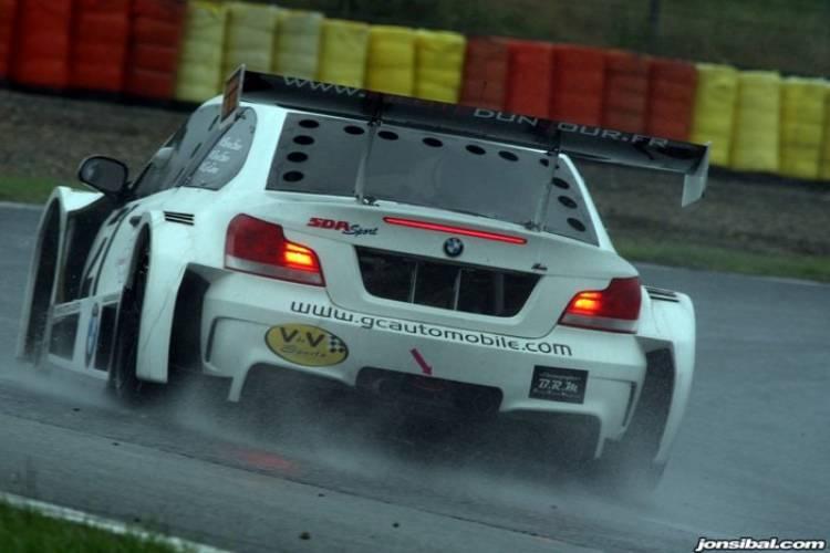 GC10-V8, un BMW Serie 1 M (o algo parecido) de competición