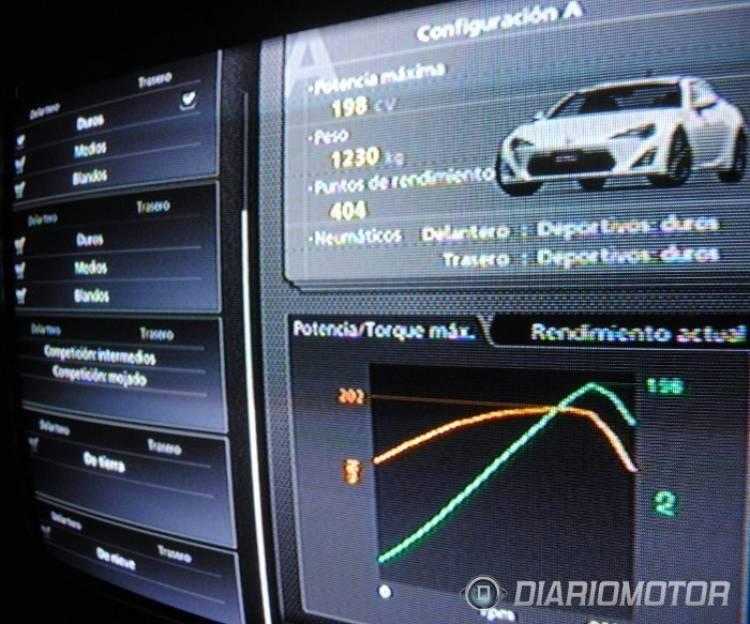 Toyota GT 86 en el Gran Turismo
