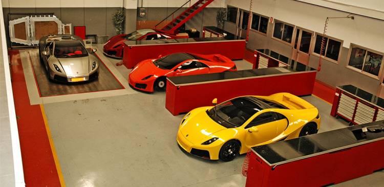 Spania GTA Spano, talleres