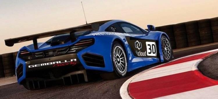 McLaren MP4-12C GT3 Gemballa Racing