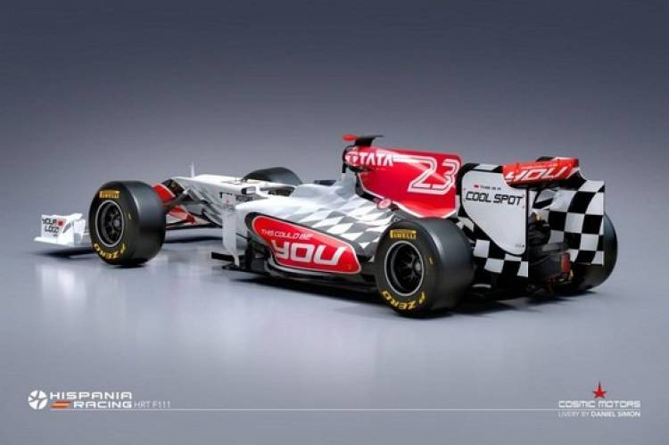 Hispania Racing Team F111