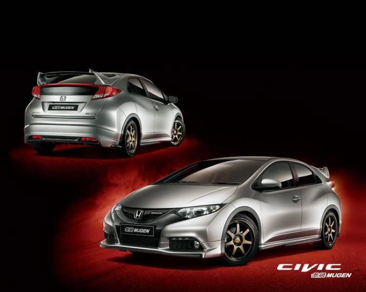 Mugen prepara al nuevo Honda CR-V y al Civic europeo