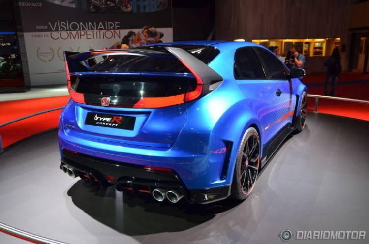 Honda Civic Type R 2015: nuevo adelanto, vez en forma de vídeo interactivo