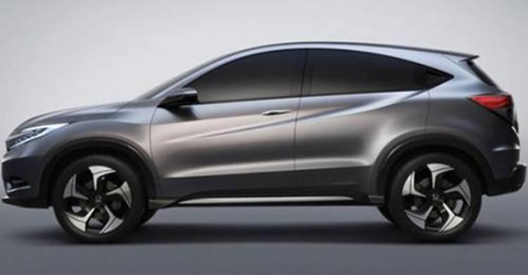 Filtradas las dos primeras imágenes del Honda Urban SUV Concept